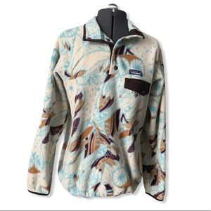 Patagonia Synchilla pullover moon owl sweater